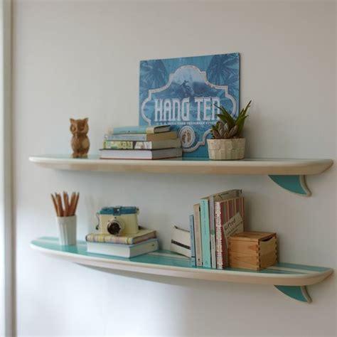 Surfboard Wall Shelf by Pool Surfboard Shelf Style Display And Wall