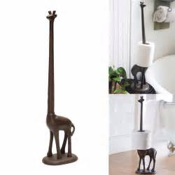 giraffe paper towel holder giraffe shape toilet paper roll towel dispenser home