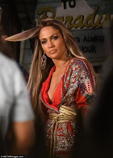 jlo biography in spanish jennifer lopez is seen on the set of her new music video