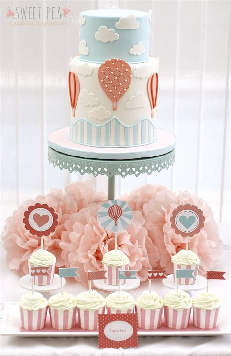 Air Balloon Themed Baby Shower by Air Balloon Themed Baby Shower Cakecentral