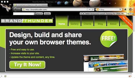 theme creator mozilla brand thunder introduces bt engage a diy browser theme