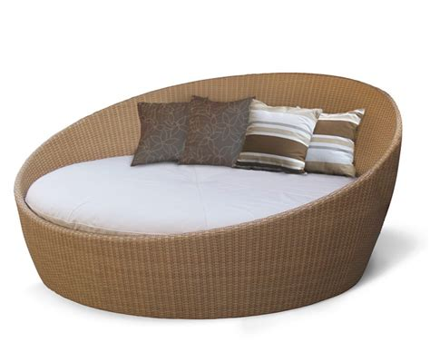 rattan daybed oyster rattan daybed with canopy contemporary synthetic