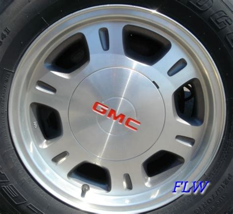 gmc stock rims pictures of gmc dually with painted stock rims autos post