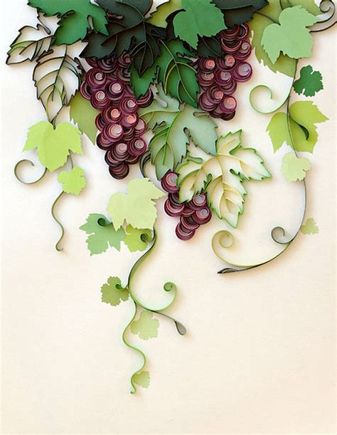 How To Make Paper Grapes - inspiring paper quilling projects to try