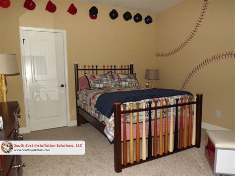 baseball themed bedroom baseball themed bedroom bedroom other by south east installation solutions llc