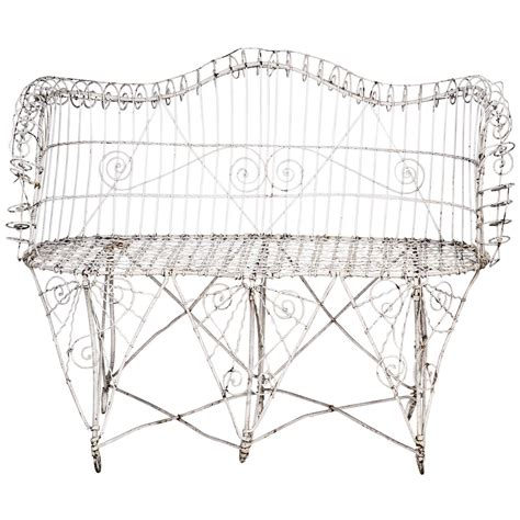 stuff i love modernizing victorian furniture antique victorian woven iron patio love seat at 1stdibs