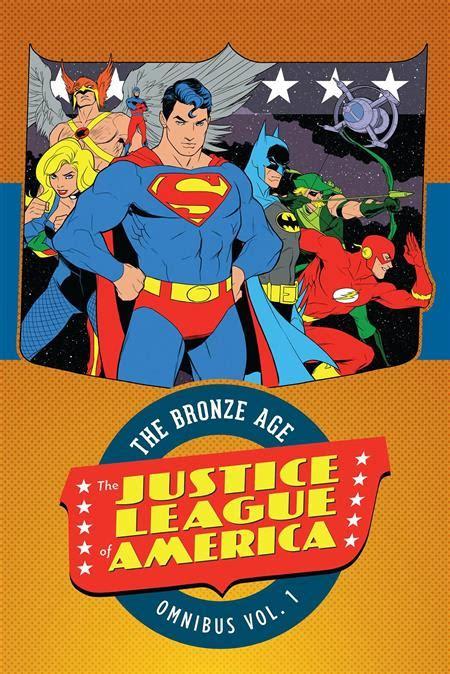 libro justice league hc vol justice league of america bronze age omnibus hc vol 01 special discount discount comic book