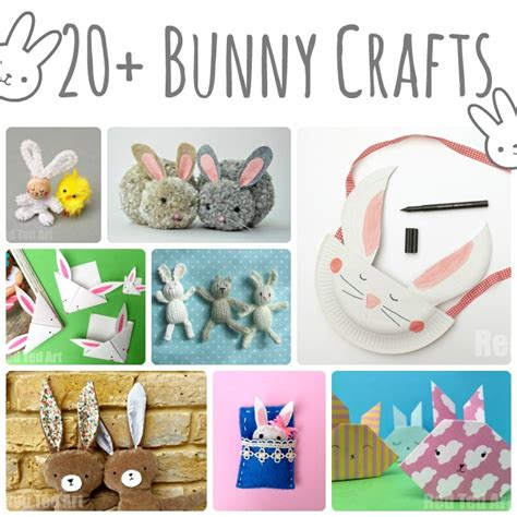 easter basket crafts red ted art s blog 20 cute bunny crafts for kids red ted art s blog red
