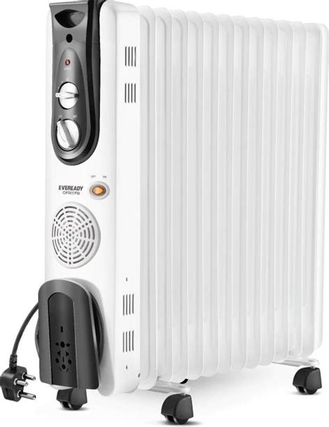 room heater reviews eveready ofr11fb filled room heater reviews and ratings