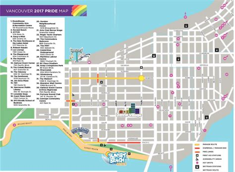 new year parade route vancouver vancouver pride parade route road closures 187 vancouver