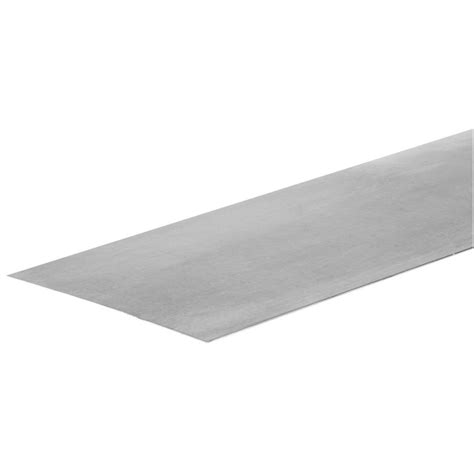 tin plated steel sheet shop hillman 24 in x 4 ft plated steel sheet metal at