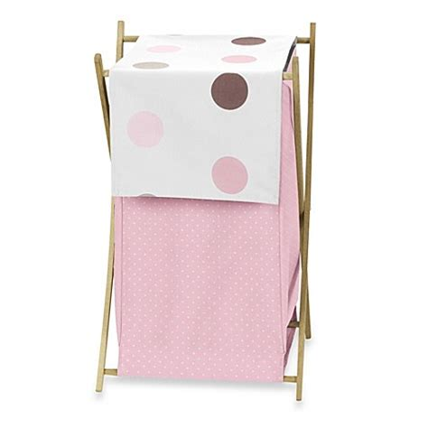 bed bath and beyond laundry her buy sweet jojo designs mod dots laundry her in pink