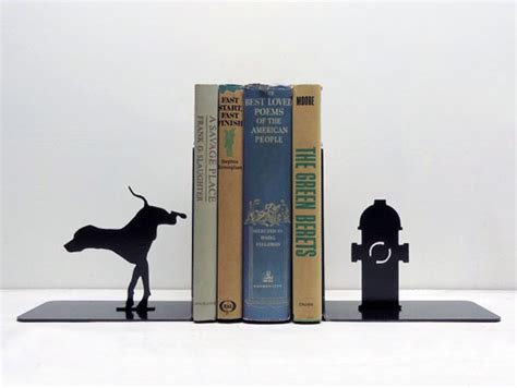 ends books cool and clever bookends by knob creek design swan