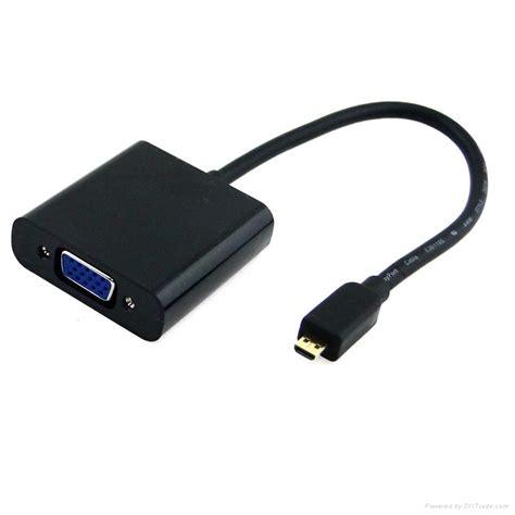 Converter Micro Hdmi To Vga micro hdmi to vga converter cable dl vga014 china