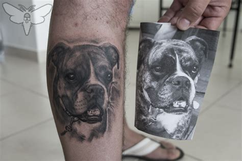 animal portrait tattoo marko visnic certified artist