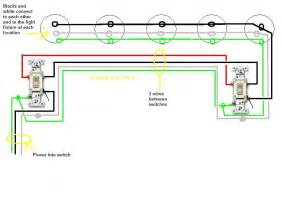to one switch wiring three lights wiring diagram