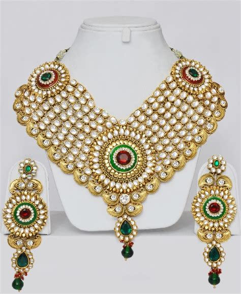 wedding kundan jewelry set online shopping shop for