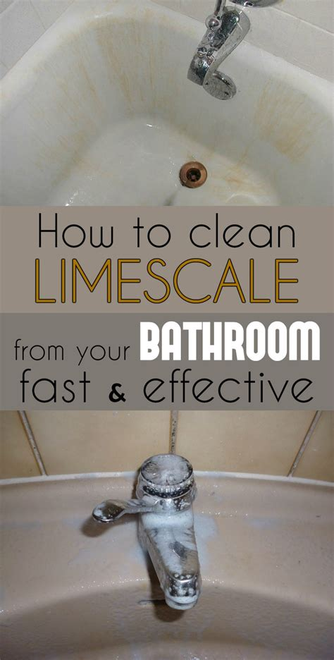 How To Remove Limescale From A Shower by How To Clean Limescale From Your Bathroom Fast And