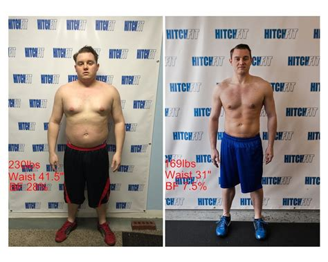 weight loss 60 pounds kansas city fitness joel salter at hitch fit