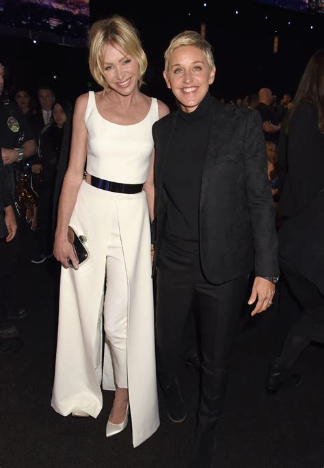 portia de and degeneres degeneres and portia de at the s choice