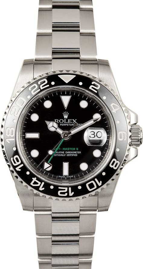 Rolex Gmt Master Ii As used s rolex gmt master ii 116710 master ii ceramic