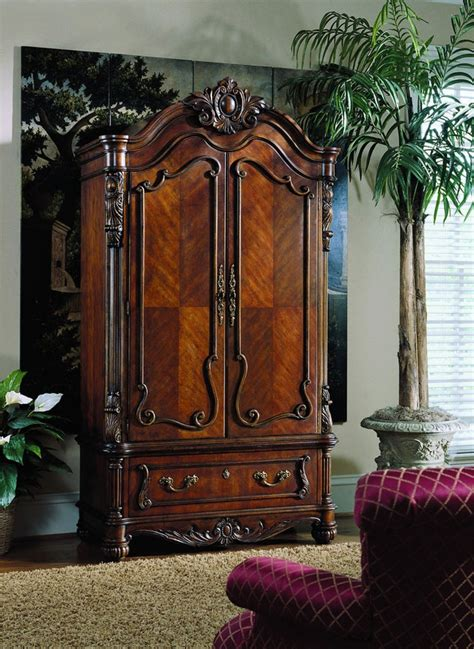 pulaski edwardian armoire 2 545 20 hook storage what