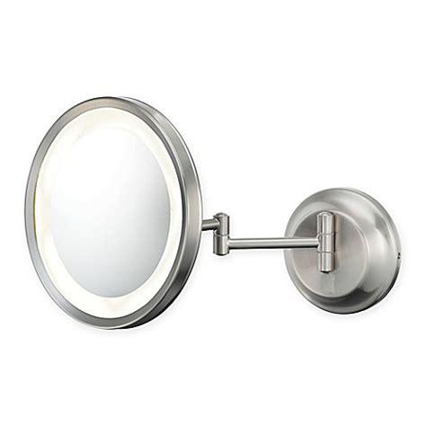 bed bath and beyond makeup mirror buy kimball young 5x lighted makeup mirror in brushed