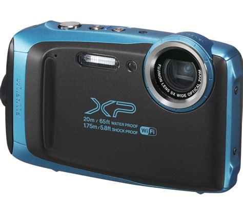buy fujifilm xp tough compact camera blue