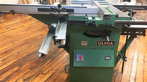 dream machines kevin rodels ulmia  sliding tablesaw