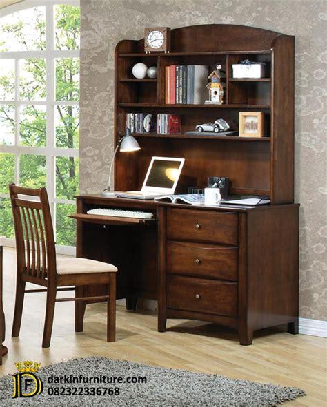 Meja Belajar Bahan Kayu meja belajar kayu jati meja belajar dakin furniture