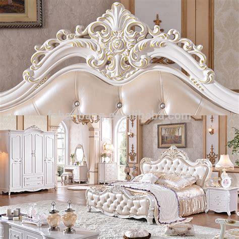 antique luxury royal king bedroom furniture set photo