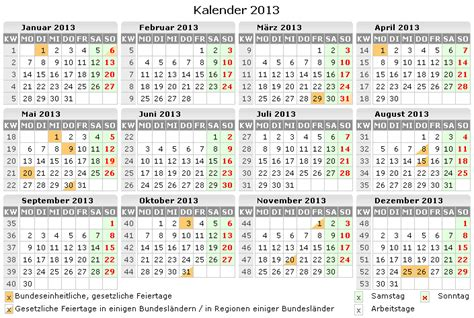 kalender 2013 zum ausdrucken kostenlos