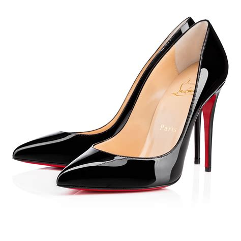 Highheels Us12 Hitam 5 pigalle follies 100 black patent leather shoes christian louboutin
