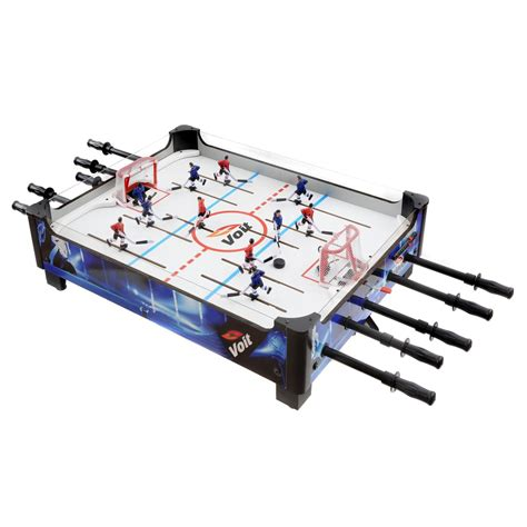table top hockey voit 33 in table top rod hockey foosball tables at