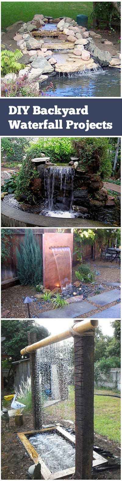 homemade waterfalls backyard 137 best images about diy water fountains on pinterest