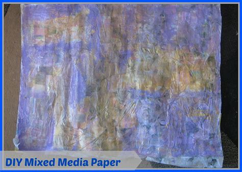 How To Make A Collage With Paper - how to make mixed media collage paper mixed media tissue