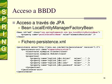 spring factory pattern xml exle spring entitymanagerfactory