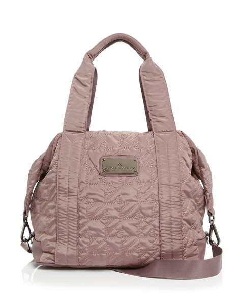 Tote Bag By lyst adidas by stella mccartney tote small bag in purple