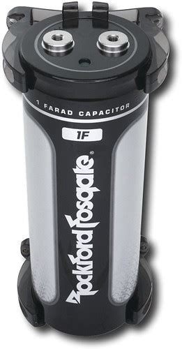 rockford fosgate capacitor charging card rockford fosgate 1 farad capacitor rfc1 best buy