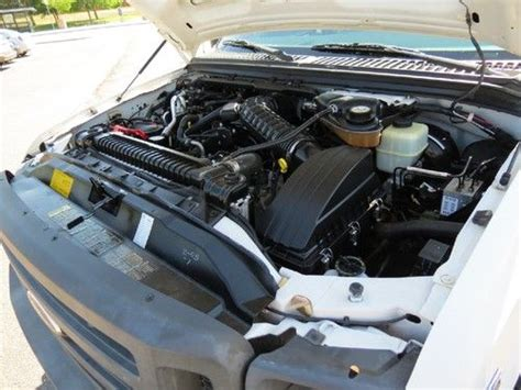 how does a cars engine work 2005 ford explorer electronic valve timing buy used 2005 ford f 350 supercab long bed utility work service body custom v10 body box in