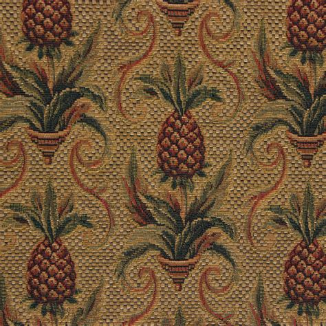 pineapple upholstery fabric r 4458 pineapple gold the fabric mill