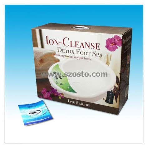 Detox Spa Package by New Products Health Care Foot Spa Ion Detox Foot Spa