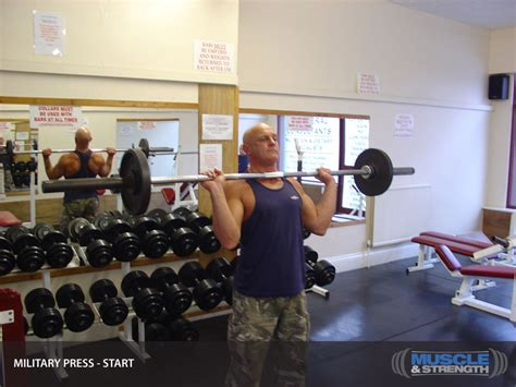 military press video exercise guide tips muscle strength