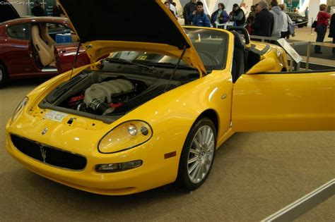 2003 Maserati Spyder Cambiocorsa by Auction Results And Data For 2003 Maserati Spyder