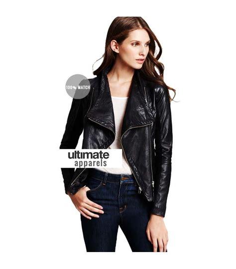 womens black moto mackage women s black moto leather jacket