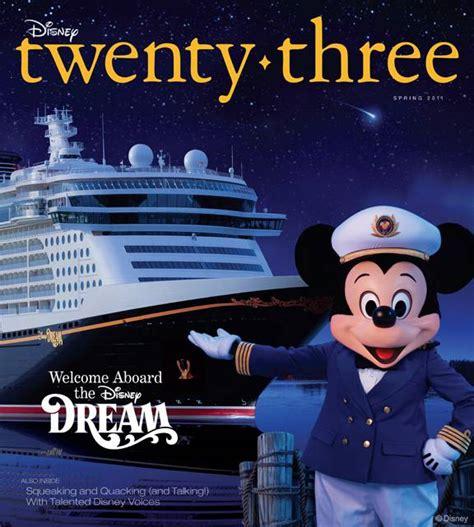 fall 2011 d23 spring issue of disney twenty three endorexpress