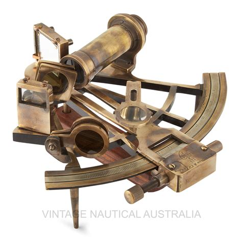 sextant vintage sextant nautical royal marine brass antique finish