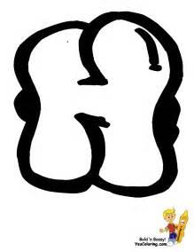 Graffiti letter h for pinterest