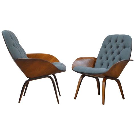 Plycraft Chair For Sale by Pair Of Plywood Mulhauser Lounge Chairs By Plycraft At 1stdibs