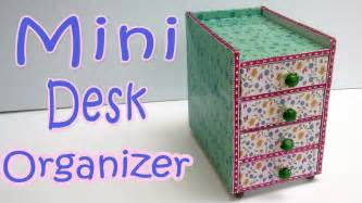 how to make a mini desk organizer diy crafts